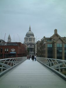 St Pauls from Millennium Bridge