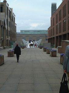 Looking towards the Tate Modern