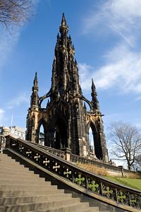 Scott Memorial, Edinburgh