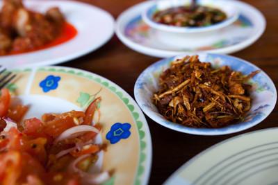 Shan food, Inle