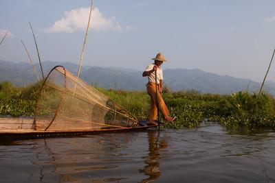 Obligatory fisherman, Inle