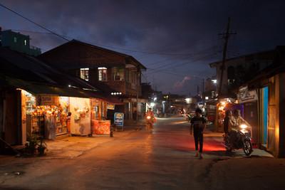 Pyin Oo Lwin at night
