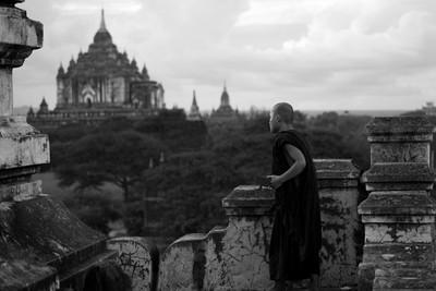 Monk, Bagan