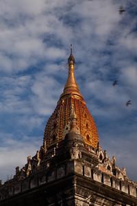 Evening sun, Bagan