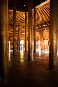 Teak monastery
