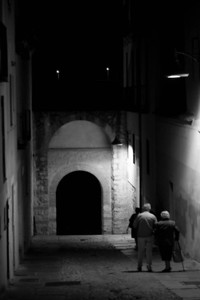 Night Street, Segovia