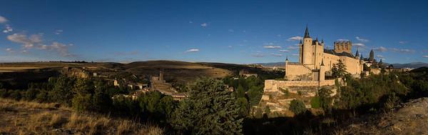 Alcazar panorama, Segovia