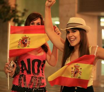 Celebrating World Cup, Granada