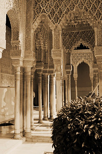 Patio of the Lions, Alhambra, Granada