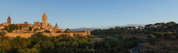 Cathedral panorama, Segovia
