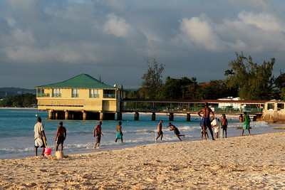 Beach Cricket, Barbados