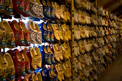 Clogs, Zaanse Schans, Holland