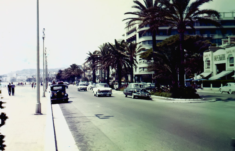 Promenade des Anglais and Rue Halevy<br /> Nice, France