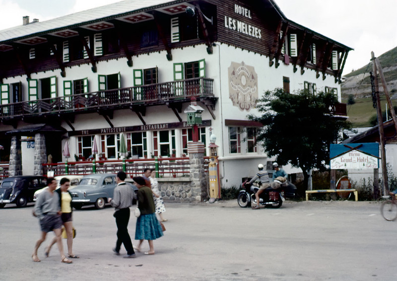 """Hotel les mélèzes, Valberg Savoie, France.<br /> <br /> Here from another angle about 7 years after the one above<br />  <a href=""""http://www.photos-depot.com/photo-jpg-19569.htm"""">http://www.photos-depot.com/photo-jpg-19569.htm</a><br /> The hotel is waaaaay in the back."""