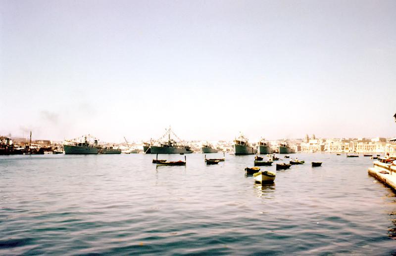 British Fleet <br /> Valletta, Malta