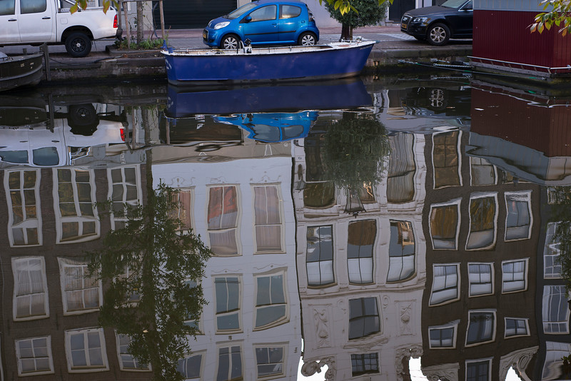 Canal Houses Reflected