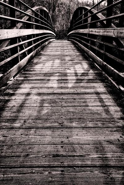 Bridge  Over Looking Glass Creek