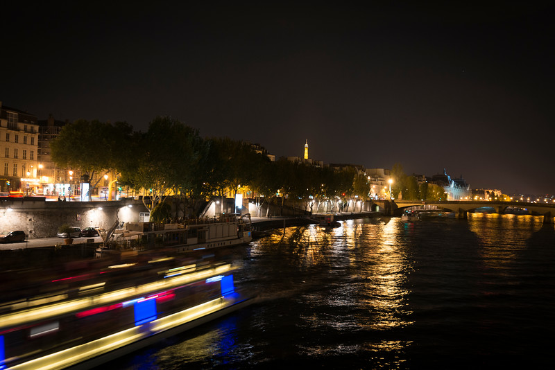Night on the Seine
