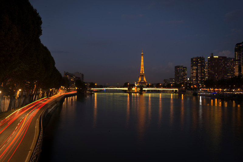 Eiffel Tower from Downstream