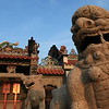 Lions guarding the Pak Tai Temple on Cheung Chau