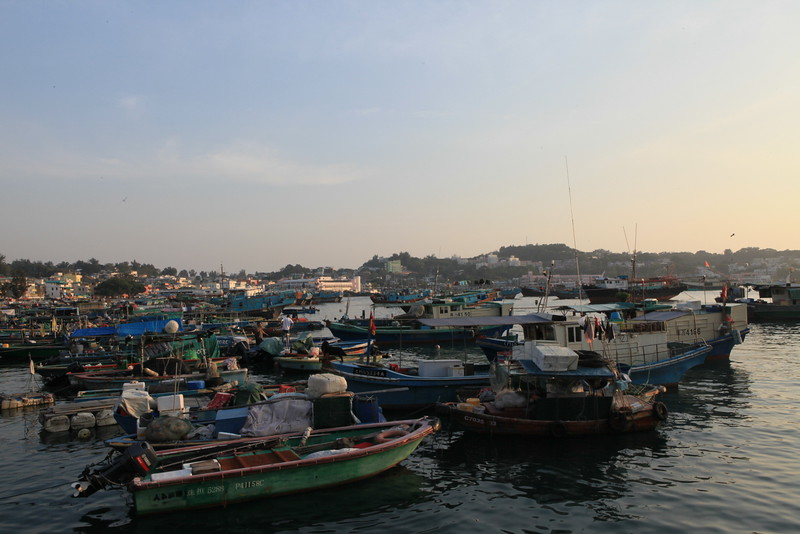 Cheung Chau harbour