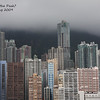 Central on a stormy day, Hong Kong, 2009