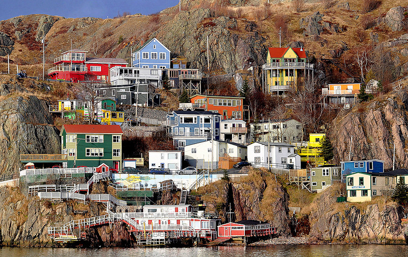 The Battery, St.John's.  From the south side.