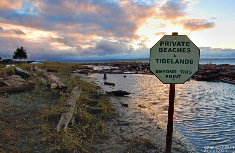 Private Beaches and Tidelands