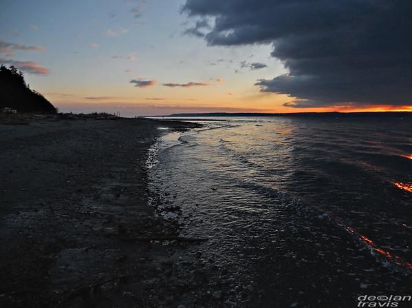 Maxwelton Beach, Dusk