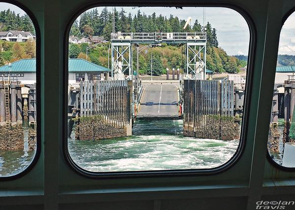 Ferry Boat Docking, Clinton, WA