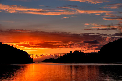 Deception Pass Sunset