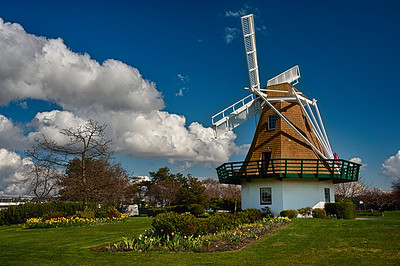 Oak Harbor Windmill: Whidbey Island, Washington