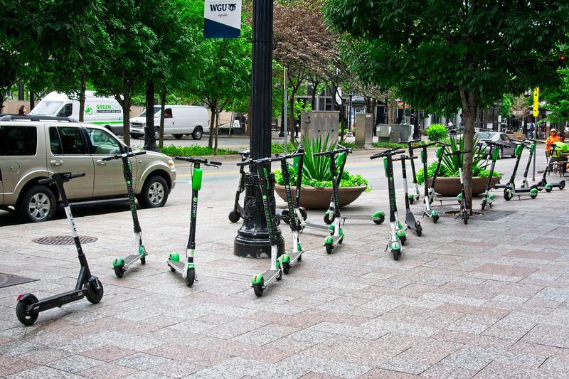 """I've been told that a collection of electric scooters is called an """"obnoxium"""". Has anyone else heard that?"""