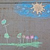 Chalk Art in Daybreak, South Jordan, Utah