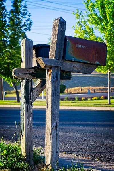 Mailboxes in Murray, Utah
