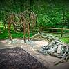 In the Kansas City Zoo, Kansas City, MO