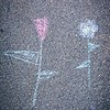 Children's Chalk Art