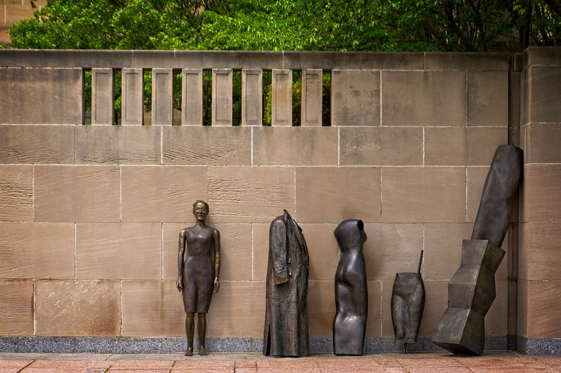 In front of the Nelson-Atkins Museum of Art, Kansas City, Missouri