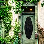 Behold the green door!