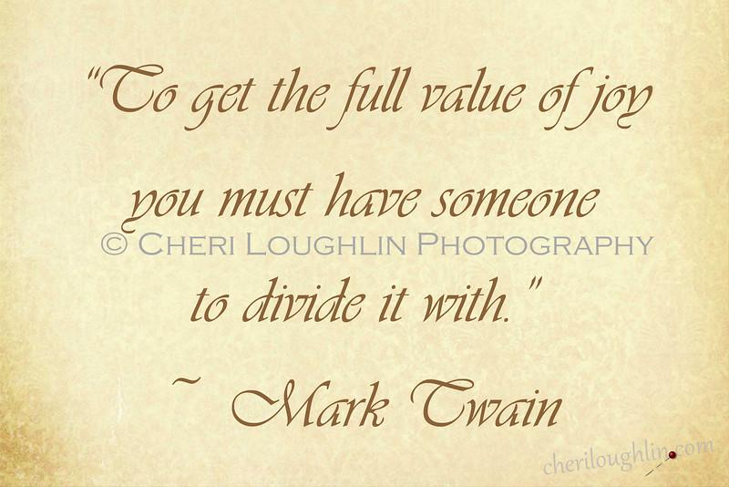 Value of joy