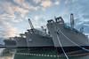 Retired Naval Vessels, Alameda Naval Station, CA