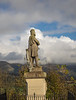 Robert the Bruce Statue Framed by Clouds