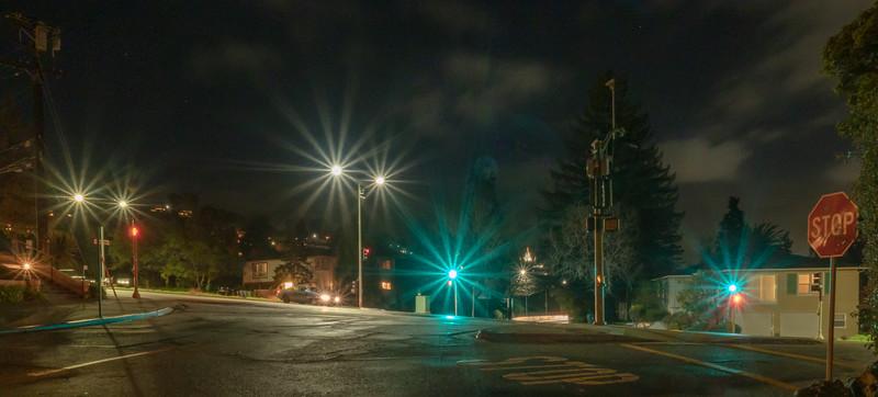 Street Lights After Dusk