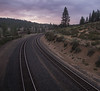 Union Pacific Tracks at Dusk, Hirschdale CA