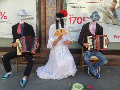 Seville, Spain, is so nice that people have been known to lose their heads over it.