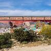 Mural to side of Desert Tower.