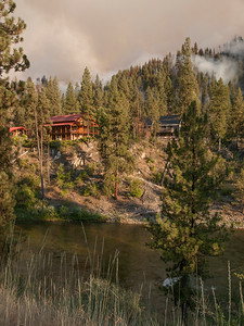 Whiskey Complex, Boise National Forest, Garden Valley, ID, 2014; the Wash Fire, day one
