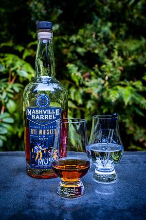 Nashville Barrel ~ Small Batch Rye Whiskey  4.5 / 5