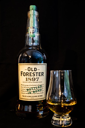 Old Forester 1897 ~ Kentucky Straight Bourbon Whisky ~ 100 proof 4/5