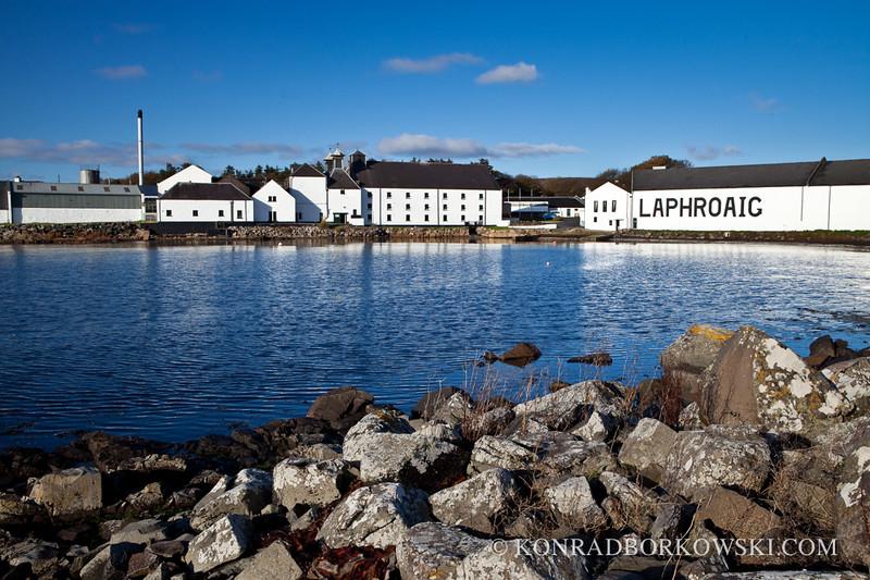 Laphroaig Distillery, Isle of Islay.